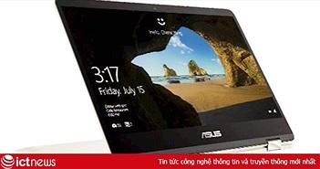 Về Việt Nam, laptop ZenBook Flip 14inch cảm ứng có giá hơn 30 triệu đồng