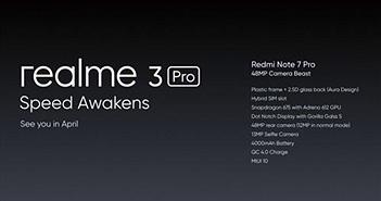 Realme 3 vừa ra mắt, tháng 4 sẽ có thêm Realme 3 Pro