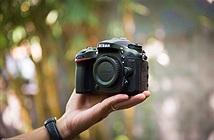 [Trên tay] Máy ảnh Nikon D7200