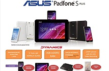ASUS tiếp tục có mẫu điện thoại mới với tên gọi PadFone S Plus