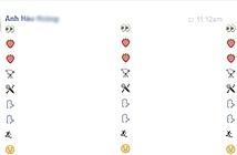 Tra mã biểu tượng cảm xúc Facebook mới thế nào?