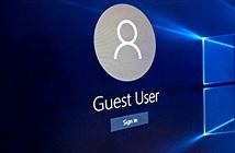 3 cách đơn giản kích hoạt tài khoản Guest trên Windows 10