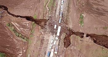 Xuất hiện rãnh nứt khổng lồ, bằng chứng châu Phi bắt đầu tách làm hai