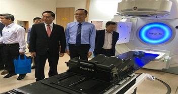 Hệ thống xạ trị - xạ phẫu hiện đại nhất Việt Nam đi vào hoạt động