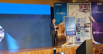 """Samsung ra mắt """"bảng làm việc tương lai"""" Flip WM55H tại Việt Nam"""