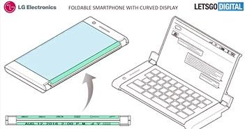 Điện thoại LG nắp gập: 2 màn hình, 2 pin và 2 cổng 3,5mm