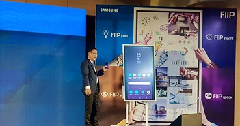Ra mắt bảng flipchart điện tử Samsung Flip WM55H tối ưu cho cuộc họp hiện đại