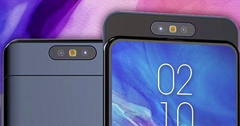 Galaxy A90 xuất hiện, đẹp không tì vết