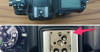 Chân Hotshoe trên Nikon D750 thay đổi kích thước. Bạn có gặp trục trặc với sự thay đổi này?