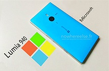 Lộ ảnh Microsoft Lumia 940 - smartphone đầu tiên có 3 đèn flash LED