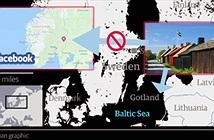 Lỗi bản đồ của Facebook đã đưa một hòn đảo của nước này thành của nước khác