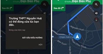 Google Maps thêm tính năng dẫn đường bằng giọng nói tiếng Việt
