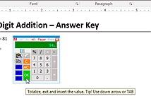 Hướng dẫn thêm máy tính vào Microsoft Word
