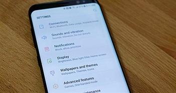 Những cài đặt cần thay đổi ngay sau khi mua Galaxy S8