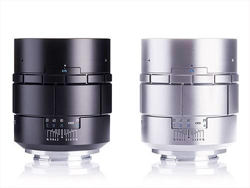 Meyer-Optik ra mắt ống kính Nocturnus 75mm khẩu độ cực lớn f0.95