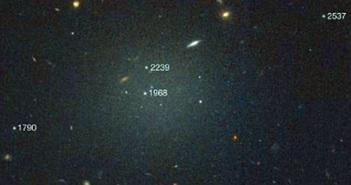 """Bất ngờ """"choáng"""" thiên hà thứ hai không có vật chất tối"""