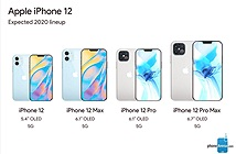 Tiết lộ mức giá cực kỳ bất ngờ của dòng iPhone 12