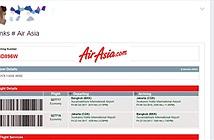 Tặng vé AirAsia miễn phí trên Facebook chỉ là lừa đảo