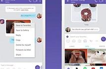 Viber công bố loạt tính năng mới, có hơn 20 phông nền khung chat