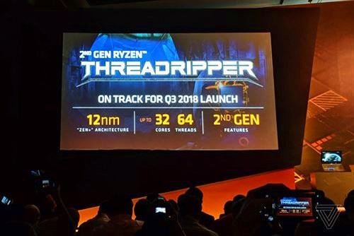 """AMD hứa hẹn bộ vi xử lý """"siêu khủng""""  32 nhân 64 luồng vào cuối năm nay"""