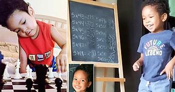 Sửng sốt bé 3 tuổi đã là thần đồng, giải toán siêu nhanh