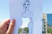 Ý tưởng tạo hình minh hoạ thời trang độc đáo của Shamekh Bluwi