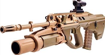 Cận cảnh súng trường tấn công F90 tối tân của Australia
