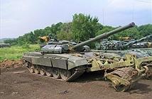 Ngạc nhiên xe tăng T-72B tự độ của quân nổi dậy Ukraine