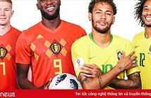 Đội hình thi đấu Brazil vs Bỉ khán giả cần biết