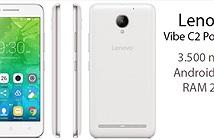 Lenovo Vibe C2 Power: Pin 3.500 mAh, 2 GB RAM, 5 720p, Android 6.0