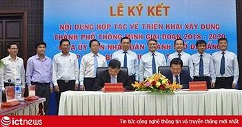 VNPT ký kết hợp tác xây dựng thành phố thông minh tại Đà Nẵng