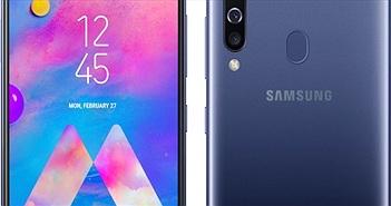 """Samsung giới thiệu dòng smartphone Galaxy M30 pin """"trâu"""", giá tốt"""