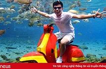 Dân du lịch Indonesia đổ xô đến sống ảo dưới nước tại ngôi làng có một không hai này