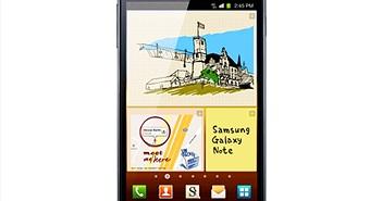 """Galaxy Note: """"Quái vật"""" của làng công nghệ di động"""