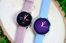 Galaxy Watch Active 2 ra mắt: Viền cảm ứng, đo điện tâm đồ như Apple Watch