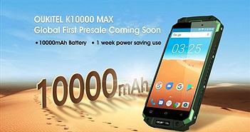 Oukitel K10000 Max: 3 giờ sử dụng chỉ tiêu thụ 5% pin