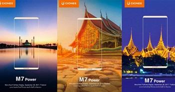 Gionee ra mắt M7 và M7 Power ngày 28/9: không viền như Note 8
