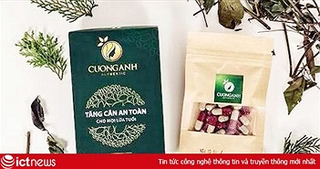 Cảnh báo trà giảm cân, tăng cân bán trôi nổi trên mạng