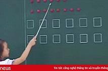Hàng loạt clip học sinh đọc bằng hình tròn, hình vuông được chia sẻ gây bão