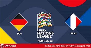 Lịch trực tiếp UEFA Nations League trên Bóng đá TV : Đại chiến của hai nhà vô địch Đức - Pháp