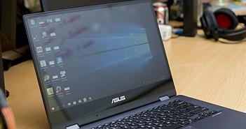 Cận cảnh laptop 2-trong-1 Asus VivoBook Flip 14 (TP412)