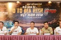 80 đội thi sẽ tranh tài tại Giải đua xe ô tô địa hình Việt Nam 2018