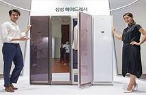 Samsung ra tủ quần áo thông minh, chỉ cần treo vào là sạch