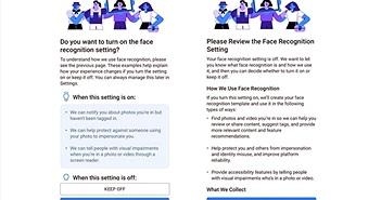 Facebook tắt tính năng nhận diện khuôn mặt và tự động gắn thẻ ảnh