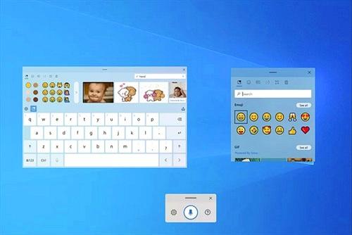 Microsoft phát triển bàn phím cảm ứng mới, nhập liệu bằng giọng nói cho Windows 10