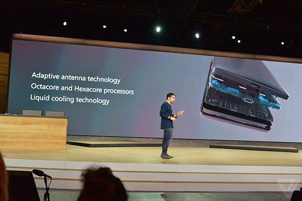 Microsoft giới thiệu Lumia 950 với khả năng tản nhiệt bằng chất lỏng