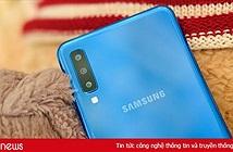 Samsung ra mắt Galaxy A7, 3 camera, vừa góc rộng vừa xoá phông, giá bán 7,69 triệu đồng
