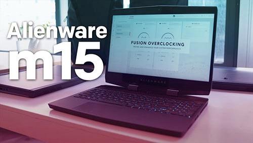 Alienware ra mắt m15: laptop chơi game mỏng 21mm, giá từ 1.299 USD