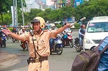 Nút giao trước cầu Sài Gòn tạm thời đóng cửa
