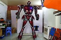 Việt Nam chế tạo thành công robot phong cách Transformers